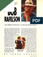 Bob Rafelson interview (magazine feature)
