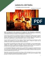 Iglesia_Autor_RubénAmón_EL MISTERIO DEL LATÍN_Mayo2016.docx