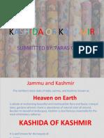 Kashida of Kashmir