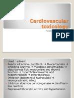 K27. Cardiovascular Toxicology