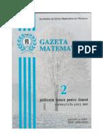 GAZETA MATEMATICA Seria B N0 2/2019
