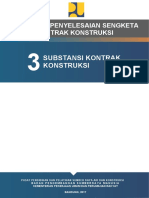 051e7 973266Modul 03 - Substansi Kontrak Konstruksi