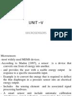 Microsensors and Microactuators