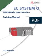Melsec Q - Training Manual (GX Developer) 170294-B (08.06).pdf