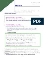 INFO E 2 Funciones de Las Palabras GMY