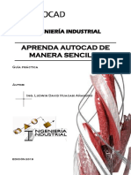 Guía AutoCAD - Ing. Ludwin