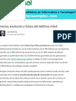 ▷ Inicios, evolución y futuro del teléfono móvil » MuyCanal