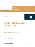 Pak Us Relationship Under Trump