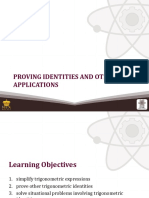 (18) Proving Identities and Other Applications