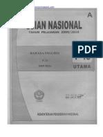 Naskah Soal UN Bahasa Inggris SMP 2010 (Paket 16).pdf