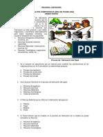 Prueba Por Competencias Tecnologia 5º 2013