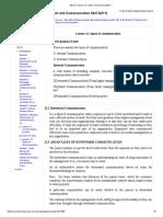 EDCS_ Lesson 12. Types of Communication