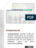 Entrepreneural Culture