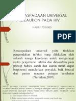 Ppt Kewaspadaan Universal Precaution Pada HIV.pptx