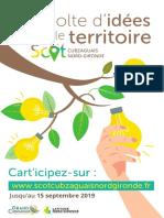 SCoT - Récolte d'idées pour le territoire