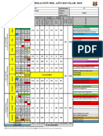 Calendario Cívico Escolar 2019