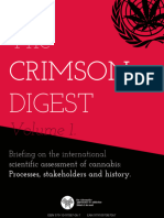 The CRIMSON DIGEST Volume 2. Analysis of the WHO cannabis reviews outcomes, and the INCB's report on ​Cannabis​.