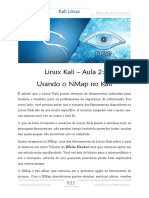 NMap No Kali Linux