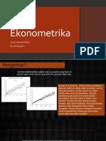Ekonometrika Kel.1