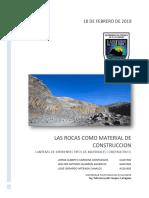 Rocas Como Materiales de Construccion y Canteras El Salvador