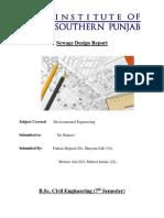 Sewage Design Report.docx