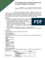 BASES PARA EL CONCURSO  DE AMBIENTACION  Y PERIODICO MURAL DE LAS AULAS  DE NIVEL INICIAL.docx