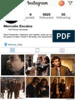 marchese julianna - character analysis instagram