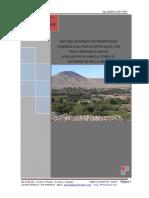 ESTUDIO GEOFISICO DE RESISTIVIDAD SONDEOS ELECTRICOS VERTICALES CON FINES HIDROGEOLOGICOS ASOCIACION DE AGRICULTORES EL BATIDERO