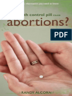 O perigo da Pílula anticoncepcional.