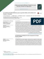 Modelación hidrodinámica para la gestión del embalse Guajaro, Colombia
