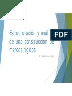 02. Estructuración y Análisis de Una Construcción de Marcos