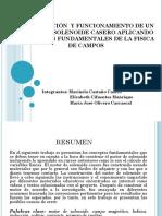 CONSTRUCCIÓN  Y FUNCIONAMIENTO DE UN MOTOR DE SOLENOIDE.pptx