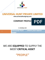 Universalhunt Presentation 160304055928