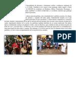 Los garífunas son un grupo étnico descendiente de africanos y aborígenes caribes y arahuacos originario de varias regiones de Centroamérica y el Caribe.docx
