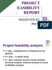 Project Feasibility Report Priya