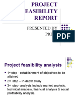 Project Feasibility Report Priya