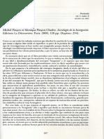 Michel Pincon Et Monique Pincon-Charlot. Sociologie de La Bourgeoisie