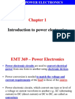 EMT 369 Wk1 Introduction to Power Electronics