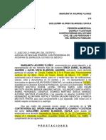 Demanda Margarita a.f. 1