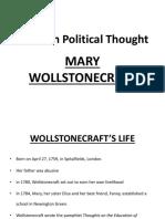Mary Woolstonecraft