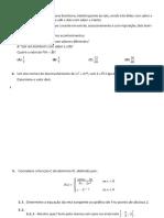 Ficha de Trabalho de Matemática 12º Ano Global Abril 2019