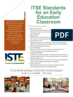 itse standards for an early education classroom