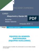 Maquinaria y Equipo Minero - Tema6