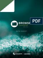 Datasheet LuciadRIA Browser V2018