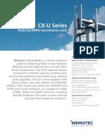 CX-U Series Data Sheet