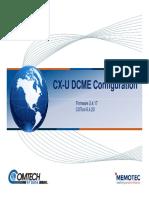 04 - CX-U DCME Configuration.pdf