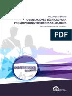 Universidad Saludable