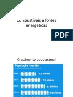 Combustíveis -sistemas térmicos