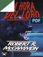La hora del lobo - Robert R McCammon.pdf