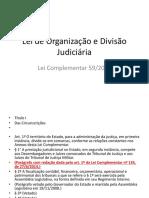 Lei de Organização e Divisão Jurídica